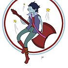 Adventure Time- Marshall Lee by SendMeLetters
