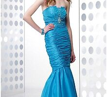 Primodels Review-Beautiful pleated design dresses by primodels