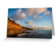 Sunset Cliffs II Greeting Card