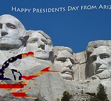 Happy President's Day from Arizona by HDTaylor