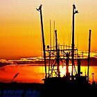 Sunrise Over the Fishing Fleet by FedericoArts