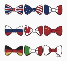 Axis, Allies, and Bowties by cosumosu
