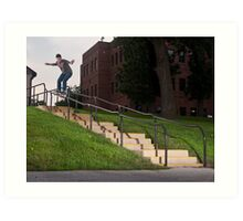 Josh Harmony 50-50, photo by Joe Hammeke Art Print