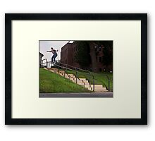 Josh Harmony 50-50, photo by Joe Hammeke Framed Print