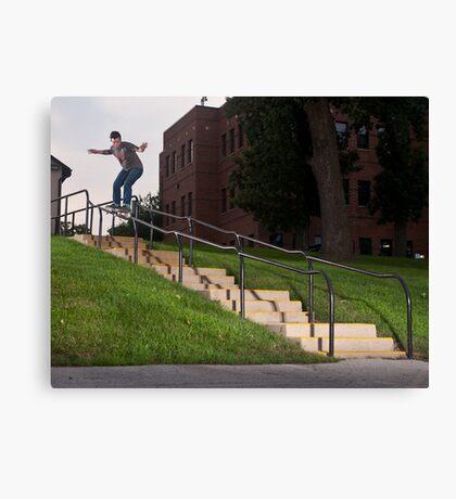Josh Harmony 50-50, photo by Joe Hammeke Canvas Print