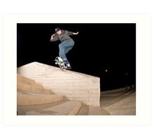 Josh Kalis SW Back Tail, AZ, Photo by Joe Hammeke Art Print