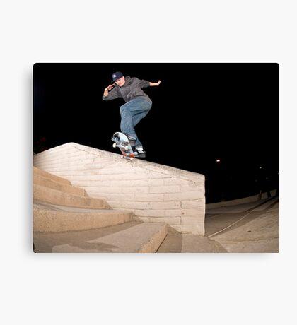 Josh Kalis SW Back Tail, AZ, Photo by Joe Hammeke Canvas Print