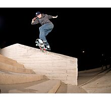 Josh Kalis SW Back Tail, AZ, Photo by Joe Hammeke Photographic Print
