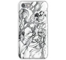 Enter the Branching Sequence - Sketch Pencil Illustration iPhone Case/Skin