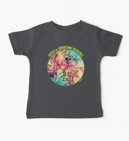Enter the Branching Sequence - Sketch Pencil Illustration Baby Tee
