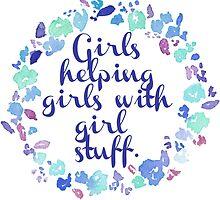 Girls Helping Girls by megsiev