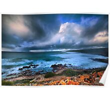 Brooding Storm Clouds Poster