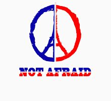 Paris not afraid 2015 Unisex T-Shirt