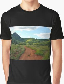 red dirt, green grass.  mlilwane wildlife sanctuary Graphic T-Shirt