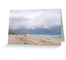 Storm Cloud Brighton Two - 07 10 12 Greeting Card