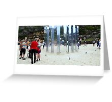 Sculptures by the Sea - 2012  Greeting Card