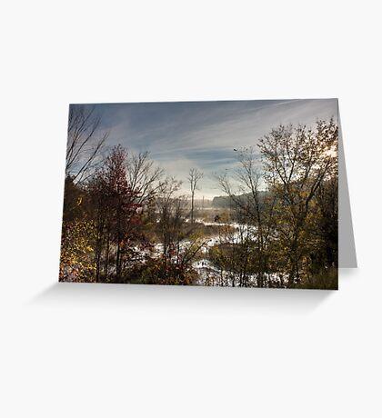 Sunrise Creek, Jordan Lake, NC Greeting Card