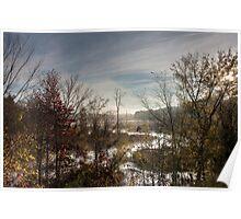 Sunrise Creek, Jordan Lake, NC Poster