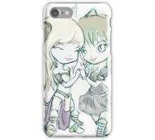 3 lives and counting mascots  iPhone Case/Skin