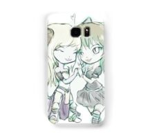 3 lives and counting mascots  Samsung Galaxy Case/Skin