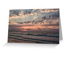 Beach Morning, Ocean Isle Beach, NC Greeting Card