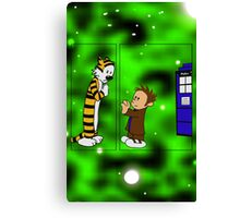 Whovian Feels  Canvas Print