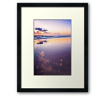 Pastel Shores..... Framed Print
