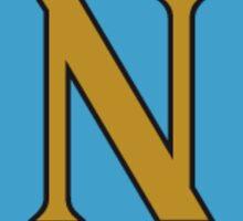 SSC Napoli Retro Sticker