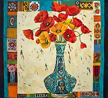 Bouquet of Flowers No.4 by Mahtab  Alizadeh