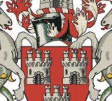 Newcastle United Retro Sticker