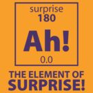 Element of Surprise by DetourShirts