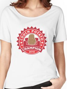 Couch Potato Champion Women's Relaxed Fit T-Shirt