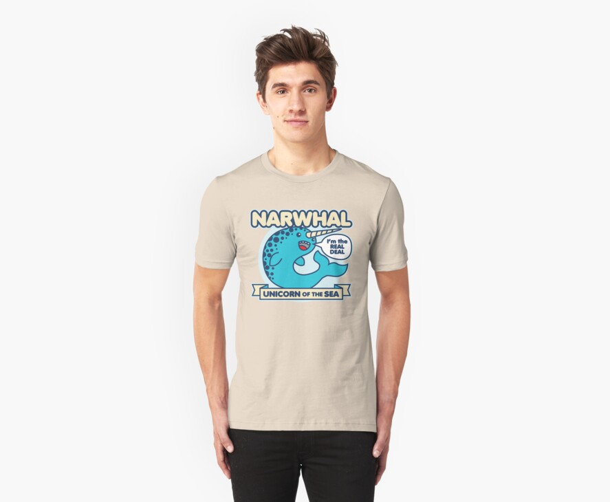Narwhal by DetourShirts