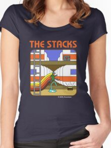 The Stacks Women's Fitted Scoop T-Shirt
