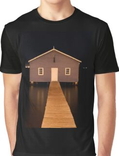 little boatshed on the river Graphic T-Shirt