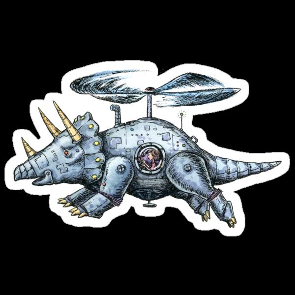Tricerabot by joykolitsky