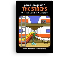The Stacks Canvas Print