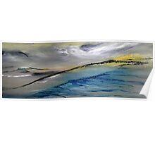 Barren landscape Poster
