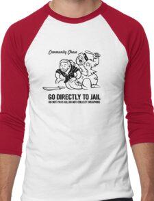 Community Chase Men's Baseball ¾ T-Shirt