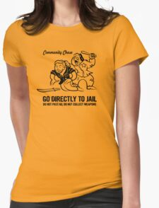 Community Chase Womens Fitted T-Shirt