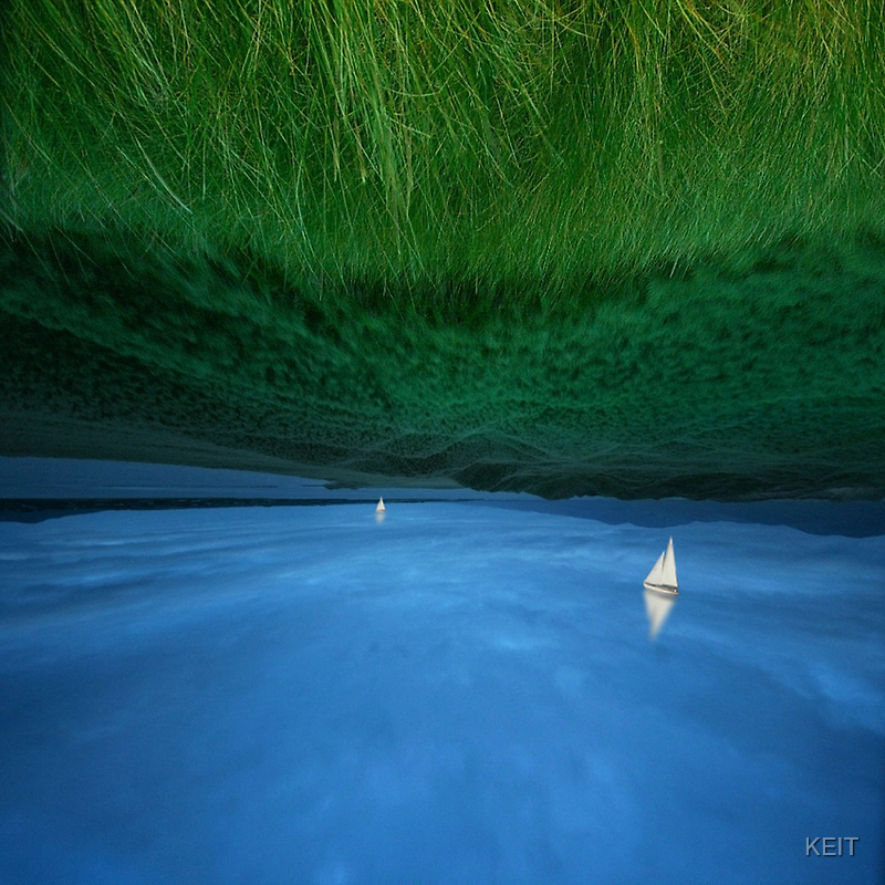 STILL SAILING MEADOWNESS by KEIT