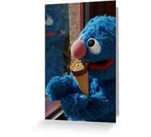 Hungry Grover Greeting Card