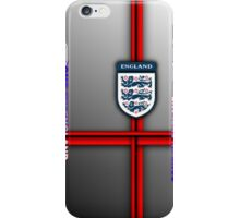 Come on England - football/soccer (zoom to see sides) iPhone Case/Skin