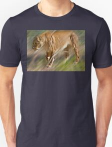 Lioness on a prowl Unisex T-Shirt