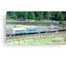 Grand Canyon Train Canvas Print