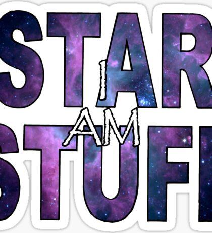 I AM STAR STUFF v2.0 Sticker
