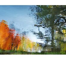 Fall Water Colors Photographic Print