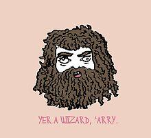 Hagrid (Pink) by suriahani