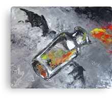 Fire Breathing Jar Canvas Print