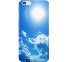 White Sun iPhone Case/Skin